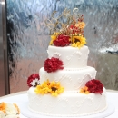 NB Sunflower Wedding Cake Fall 2017