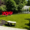 XOXOX-sculpture-and-gazebo