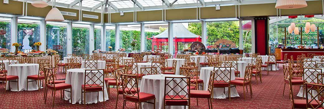 Photo of the teahouse dining hall
