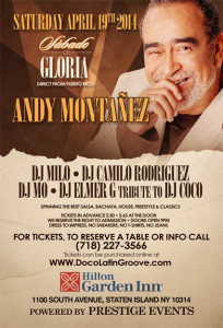 Sabado de Gloria with Andy Montanez