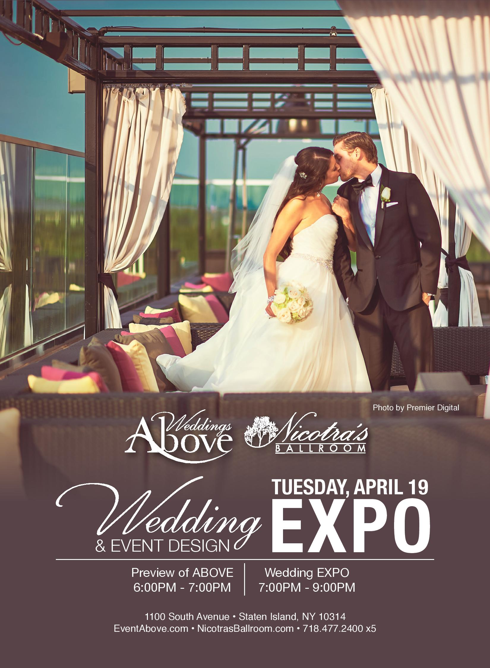 Wedding and event design expo April 19