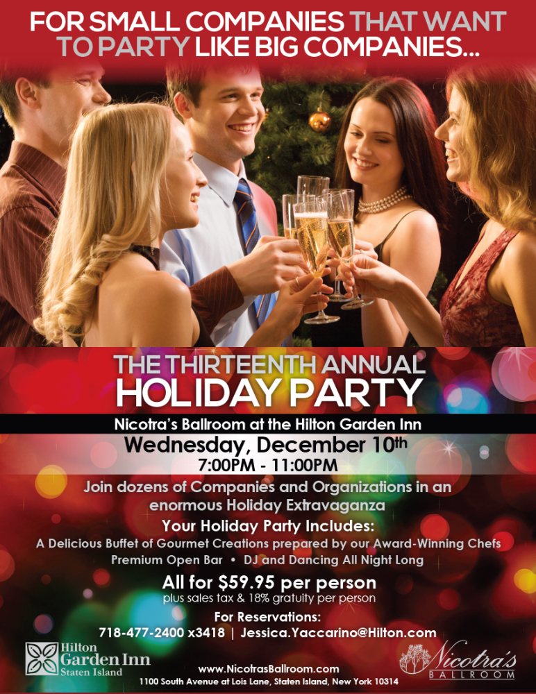 13th Annual Holiday Party
