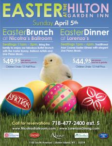 Easter At The Hilton Garden Inn