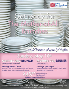 Mother's Day Brunch and Dinner