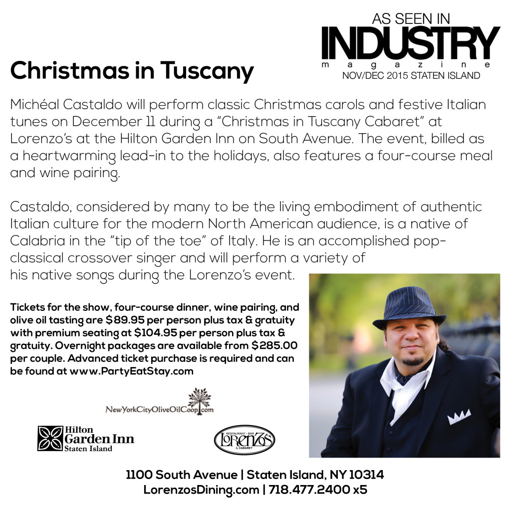 As Seen In Industry - Christmas Tuscany