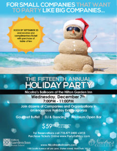 Fifteenth Annual Holiday Party