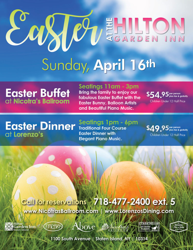 Easter at the Hilton Inn