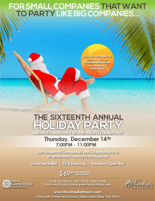 The Sixteenth Annual Holiday Party