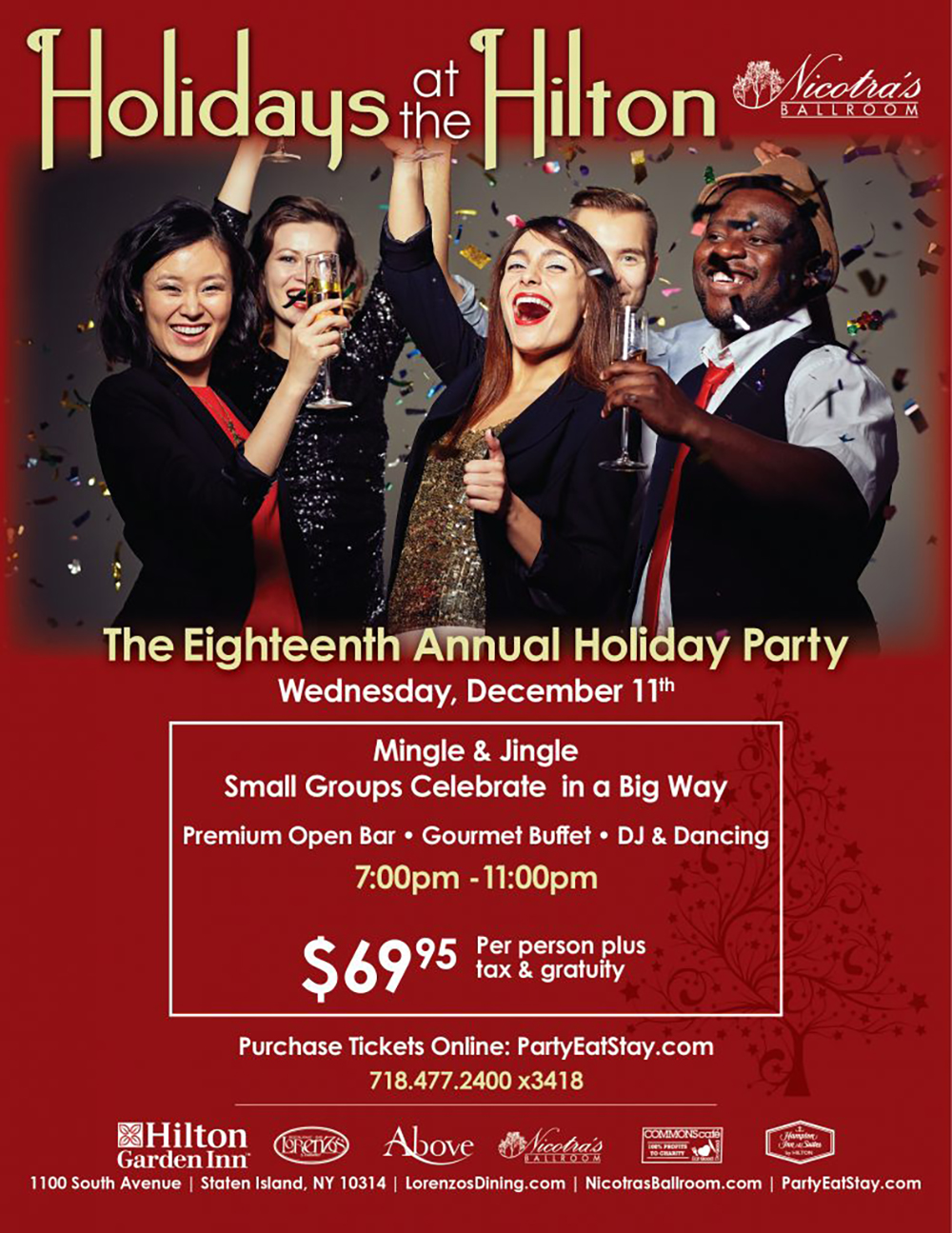 18th Annual Holiday Party